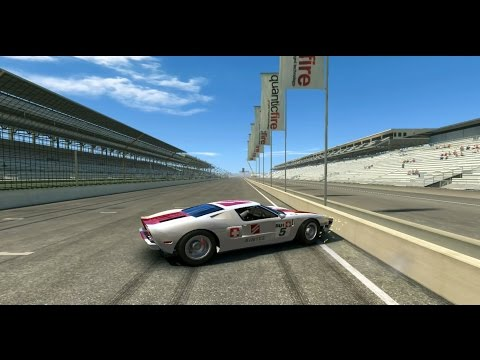 Real Racing 3: - Gameplay Ford GT Indianapolis Speedway Road Course