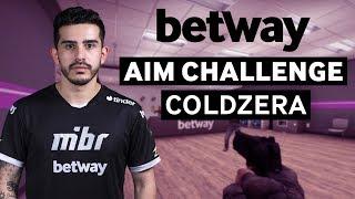 MIBR coldzera Plays Aim Challenge