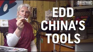 Edd China shows us the tools he couldn't live without