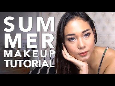 Summer Makeup Tutorial + GIVEAWAY! | AYLA DIMITRI (Bahasa Indonesia)