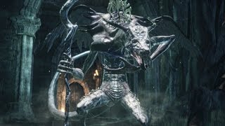 Dark Souls 3: Oceiros, The Consumed King Boss Fight (4K 60fps)