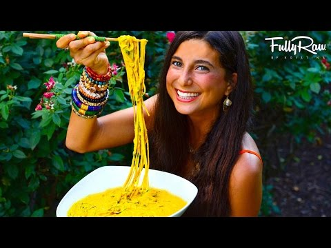 FullyRaw Curry Noodles!