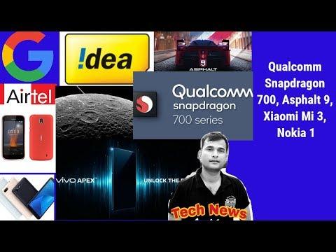 Tech News#118, Screen Fingerprint, 4G on Moon, Asus, BSNL 448, S9+ Price, Idea, Nokia 7 Plus