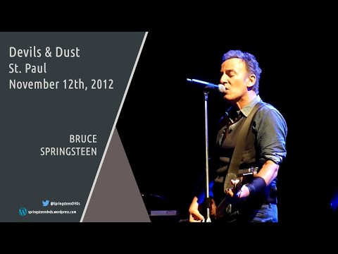 Bruce Springsteen | Devils & Dust - St. Paul - 12/11/2012 (Multicam mix/Dubbed audio)