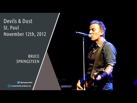 Bruce Springsteen | Devils & Dust - St. Paul - 12/11/2012 (Multicam mix/Dubbed audio)