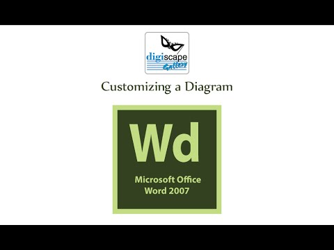 Dektop publishing with Word 2007 : Customizing a Diagram