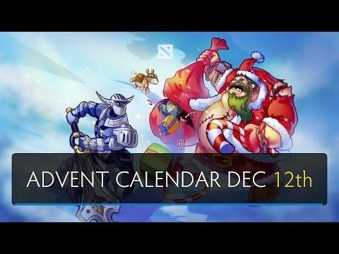 Dota 2 Advent Calendar Dec. 12th (Sven's Christmas Adventure)