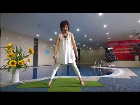 [Yoga Trị Liệu]  Tư Thế Tam Giác Thải độc, Khỏe Thận, Sáng Da.
