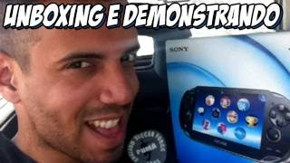 PS Vita - Unboxing e demonstração