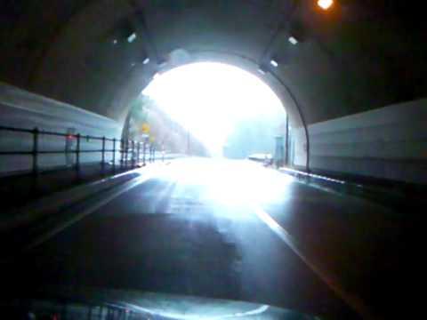 飛騨ふる里Hida Furusato Tunnel (R361, Gifu, 2075m)