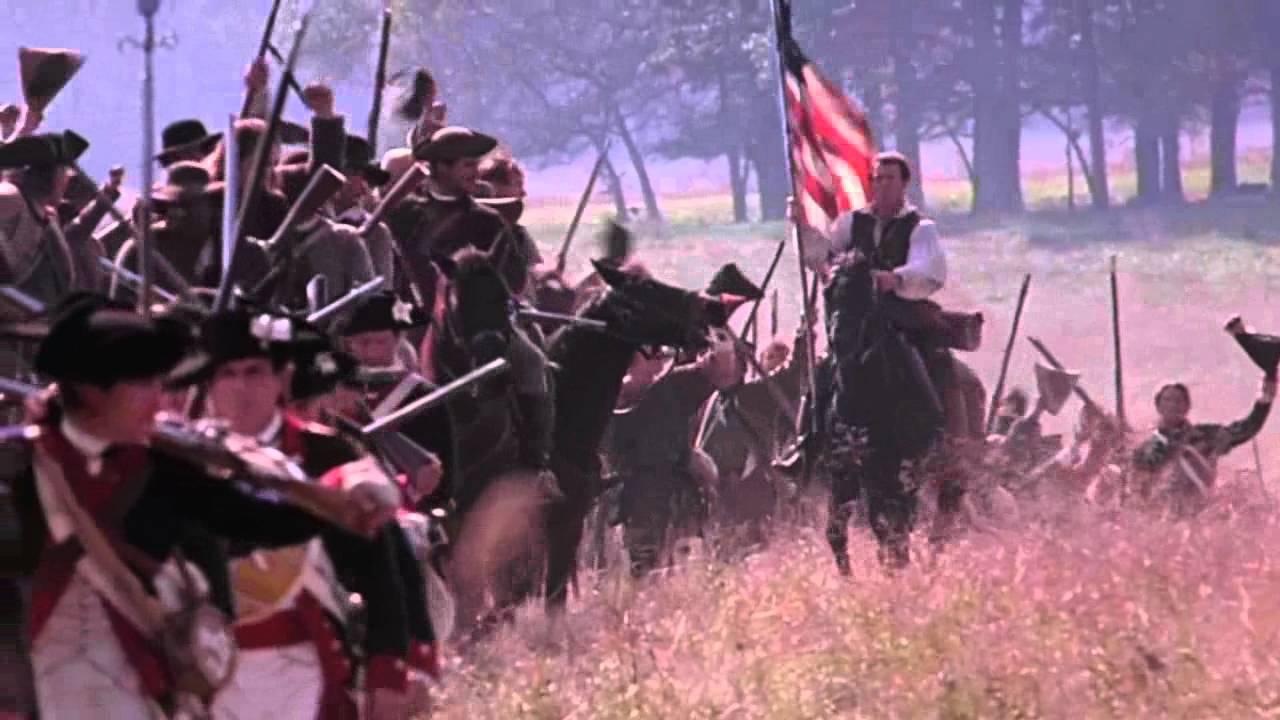 Flag Scene From The Patriot