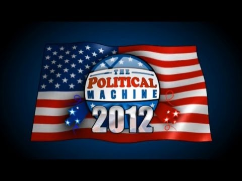 Nick Ball Plays - The Political Machine 2012 - Michelle Bachmann Versus Hillary Clinton