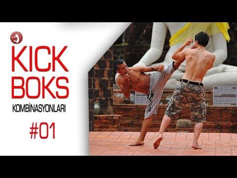 Kick Boks Kombinasyonları #01 İleri Seviye