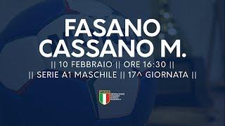 Serie A1M [17^]: Fasano - Cassano Magnago 28-22