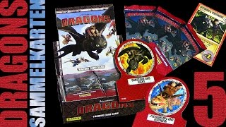Dragons - Panini ® Trading Card Game - Sammelkarten Box Unboxing 5 / 2015 Re-Upload