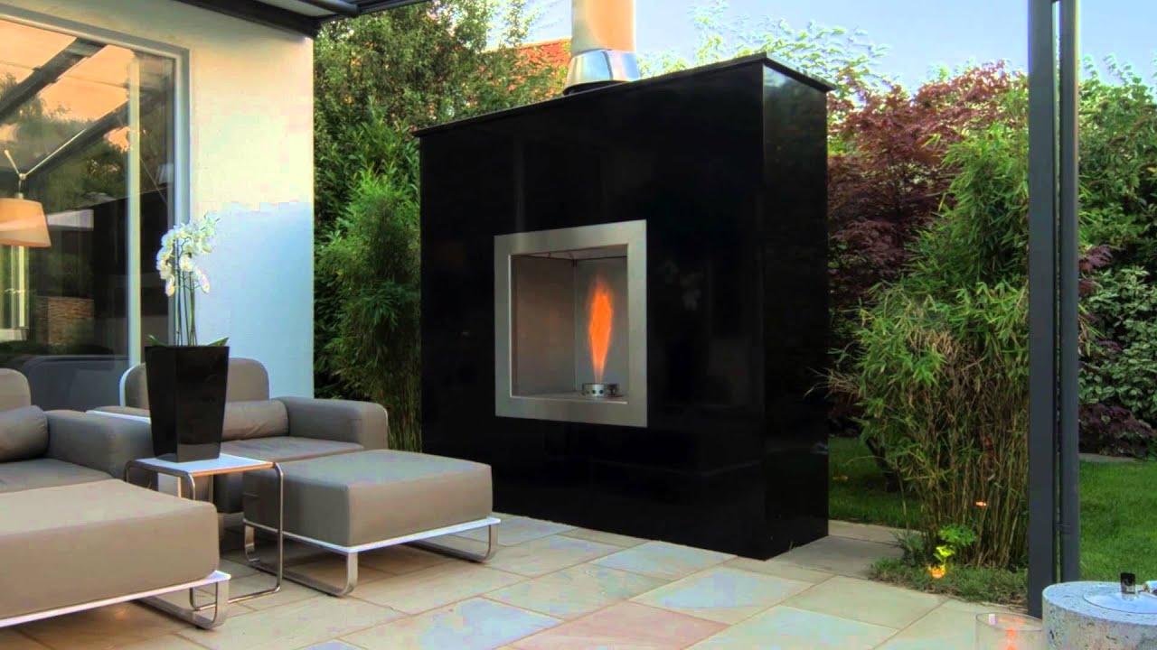 breidenbach aussenkamin wohlf hlfaktor outdoor living youtube. Black Bedroom Furniture Sets. Home Design Ideas
