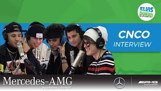 "CNCO on World Tour and ""Pretend"" 