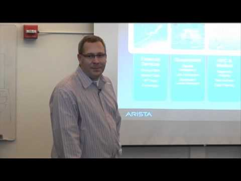 Arista Networks Product Introduction with Douglas Gourlay