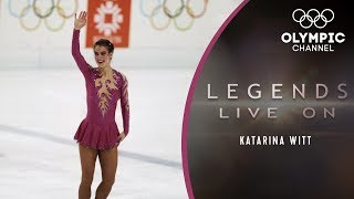 Katarina Witt - The Diva on Ice with a huge heart  Legends Live On