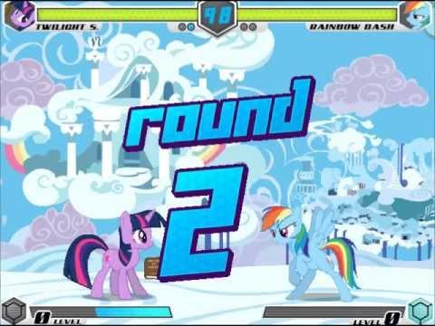 FightingIsMagic balance mod:Twilight Sparkle arcade