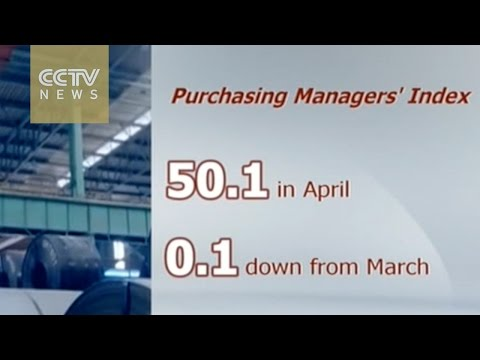 China's manufacturing sector marginally expands in April