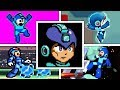 EVOLUTION OF MEGA MAN DEATHS & GAME OVER SCREENS (1987-2018) NES, SNES, GBA, Wii, Switch & More!