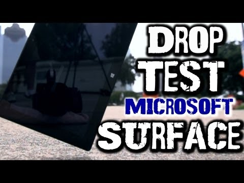 Drop Test: Microsoft Surface RT