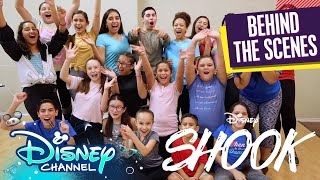 Dance Studio Watch Party! 🎥 | Behind the Scenes | SHOOK | Saturdays on YouTube | Disney Channel