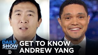 Getting to Know Andrew Yang | The Daily Show
