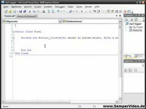 ID3-Tag von MP3-Dateien auslesen Teil 1 von 2