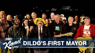 Jimmy Kimmel - Mayor of Dildo!