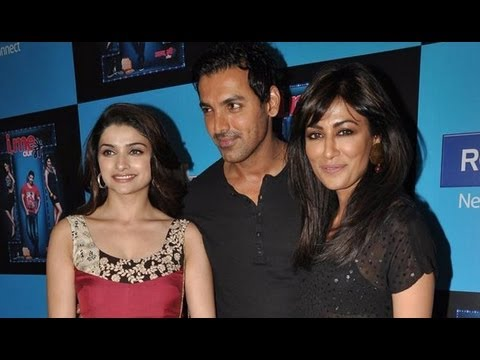 John Abraham, Prachi Desai And Chitrangda Singh At 'I, Me Aur Main' Promotion