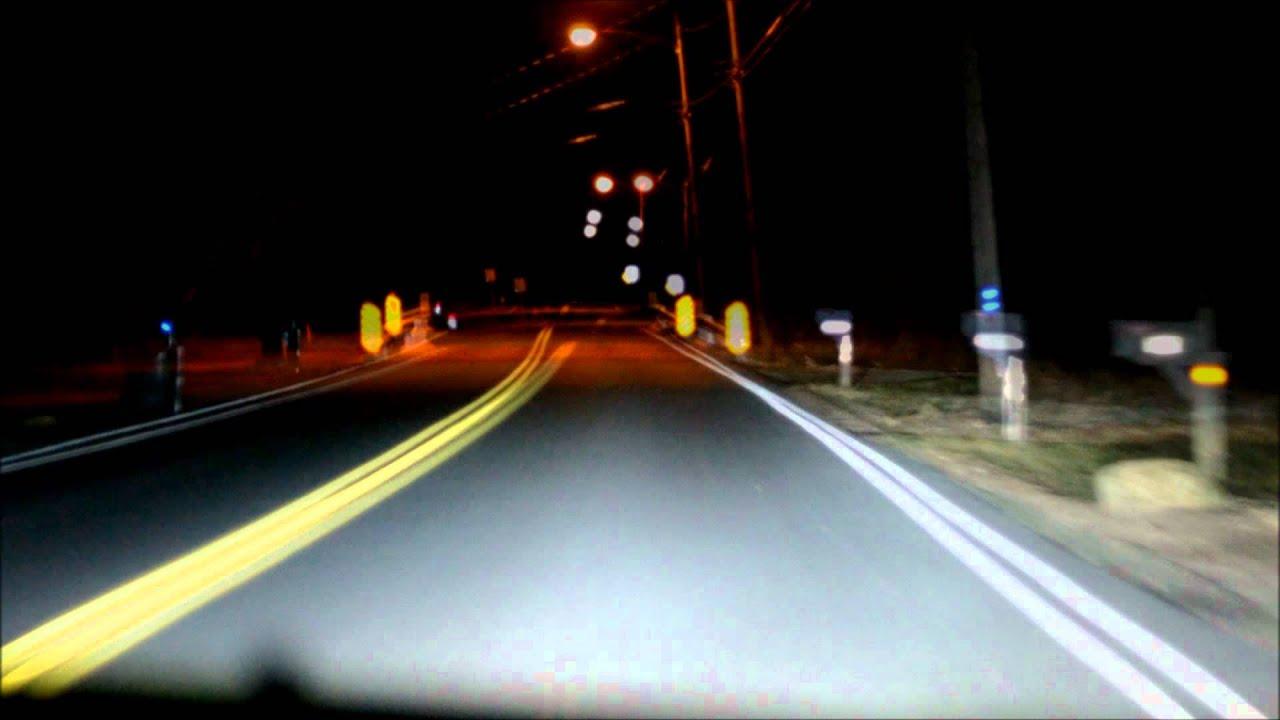 Ddm Tuning 55w 6000k Night Driving Youtube