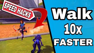 *SPEED HACK GLITCH* HOW TO RUN 10x Faster- Creative Destruction