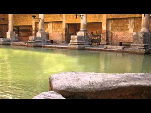 roman baths and pump room Bath Somerset