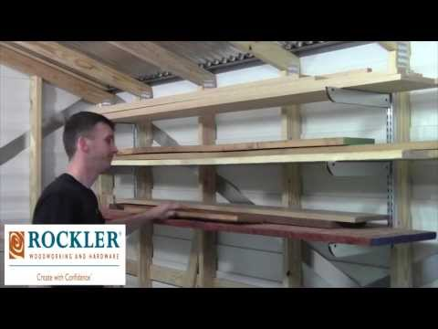 Adjustable Lumber Storage Rack Review by A Simple Design of Ocala
