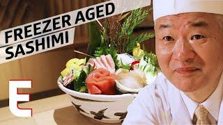 This Sushi Chef Uses a Medical-Grade Freezer to Age His Sashimi — Omakase