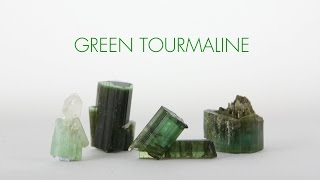 Green Tourmaline - The Crystal of Connecting to Earth's Heart