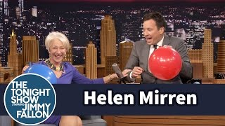 Video Helen Mirren Chats with Jimmy