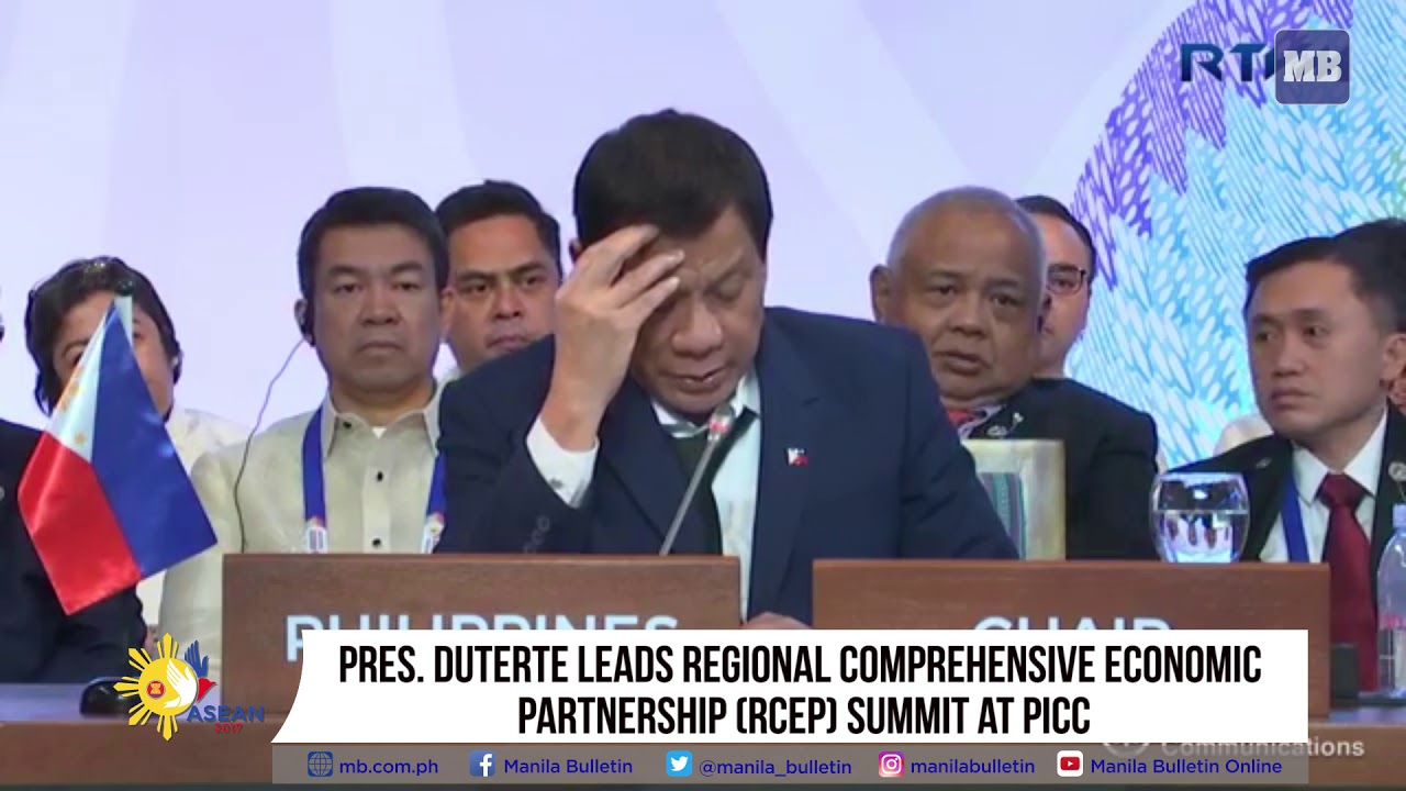 Pres. Duterte leads Regional Comprehensive Economic Partnership (RCEP) Summit at PICC