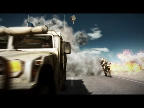 Battlefield 3: End Game Capture the Flag Gameplay Premiere