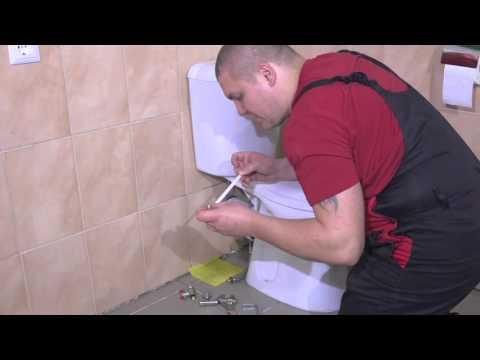 Подключение стиральной машины к крану на бачок унитаза