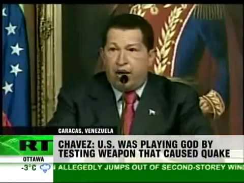 BREAKING NEWS: Hugo Chavez Acuses America of using HAARP to cause Haitian Earthquake