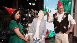 Jeff Garlin Gets Elf Training for 12 Days of Giveaways - Extended Cut