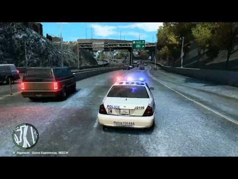 GTA 4 - Diabetic Epsiode on the Freeway
