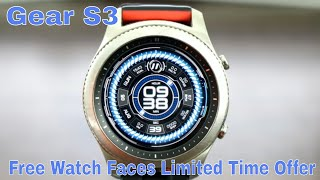 Top Gear S3 Free Digital Animated Watch Face Free For A Limited Time.