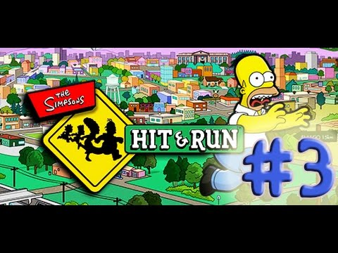 Locura en The Simpsons Hit & Run - Capitulo 3 (De carreras callejeras!)