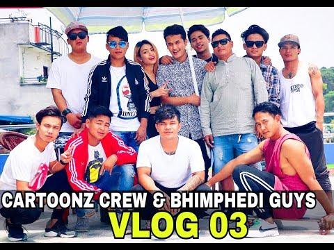 THE CARTOONZ CREW & BHIMPHEDI GUYS | Having Some Good Times | VLOG #03