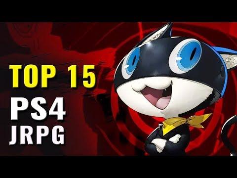 Top 15 JRPG PS4 Games of 2016, 2017 & 2018