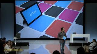 Microsoft Surface Tablet - Technology on Touch Cover